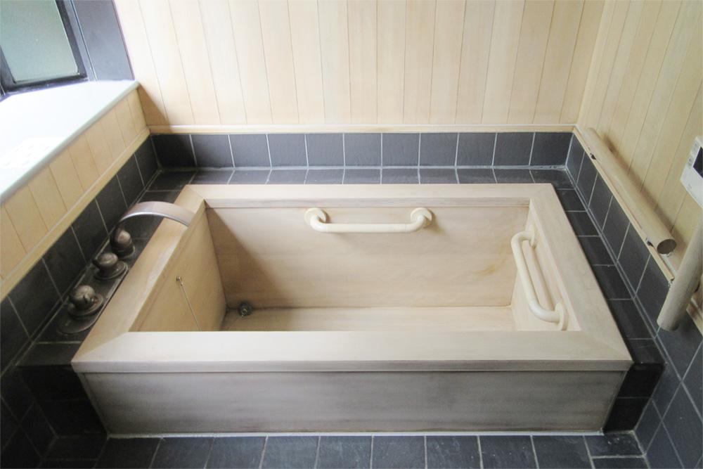 檜風呂after